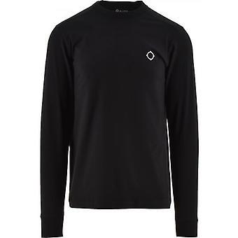 MA.STRUM Black Long Sleeve Icon T-Shirt