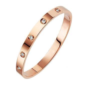Fashion High-grade Couple Exquisite Crystal Bracelet