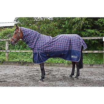 John Whitaker Combo Stamford Checked Horse Turnout Rug