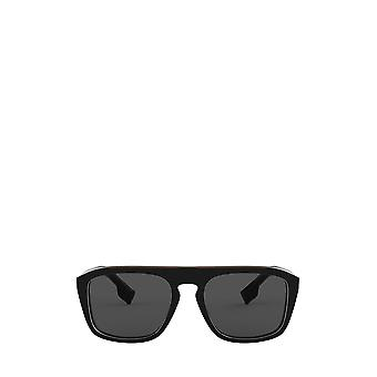 Burberry BE4286 kontrollera flerskikts svarta unisex solglasögon