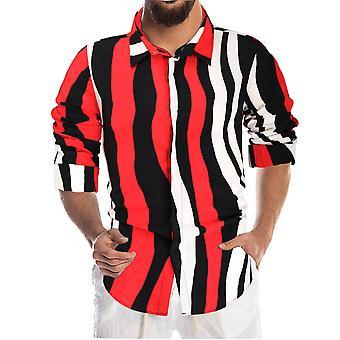 YANGFAN Men's Printed Comfort Shirt