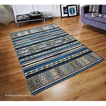 Zante Stripes Blue Rug