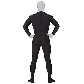 AltSkin Adult/Kids Full Body Stretch Fabric Zentai Suit - Zippered Back One Piece Stretch Suit Costume for Halloween - Slender