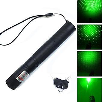 Tehokas laserosoitin, säädettävä tarkennus, kynän valo näön metsästykseen