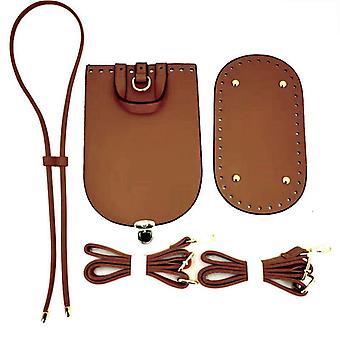 Handgemaakte handtas schouderriem, geweven tas set