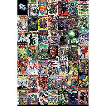 DC Комикс Плакат Монтаж 80