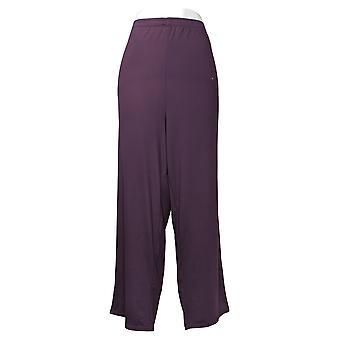Cuddl Duds Women's Pajama Pants Petite Cozy Jersey Pant Purple A381787