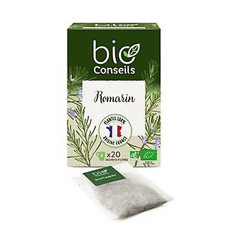 Organic Rosemary Infusion 20 infusion bags of 1.6g