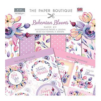 The Paper Boutique - Bohemian Blooms Collection - Paper Kit