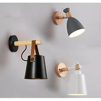 Nordic Wood Wall Lights Bedroom Beside Led Lights Lamps Restaurant Bar Lighting