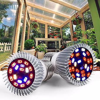 Lamps Full Spectrum E27 Led Plant Light Grow E14 18w 28w Greenhouse Tent Bulbs