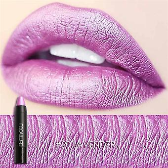 Metallic Party Color, Lip Stick Matte, Gloss Long-lasting