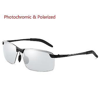 Φωτοχρωμικά πολωμένα γυαλιά ηλίου κλασικός οδηγός's Vintage discolor γυαλιών οράσεως