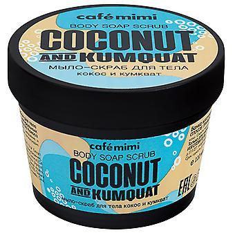 Cafe Mimi Coconut & Kumquat Body Scrub 110 ml