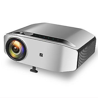 Native 1080P LED-Projektor, Full-HD-Projektor6800 Lumen HDMI-Projektor mit 300-Zoll-Display