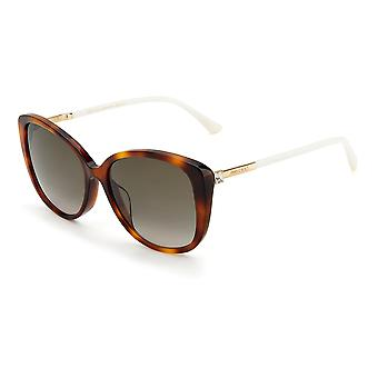 Jimmy Choo Asian Fit ALY/F/S 086/HA Havanna/Brown Gradient Solglasögon