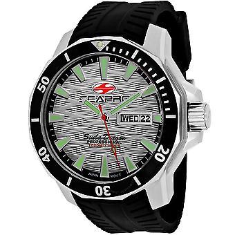 Seapro Scuba Dragon Diver Limited Edition 1000 Meters Quartz Silver Dial Men's Watch SP8312