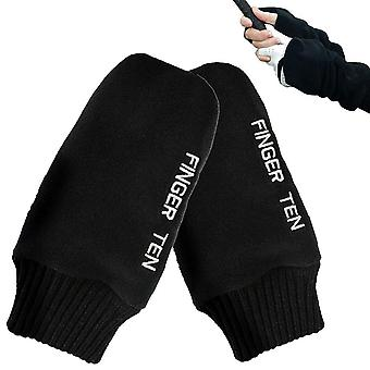 Soft Comfortable Pull Up Winter Golf Gloves