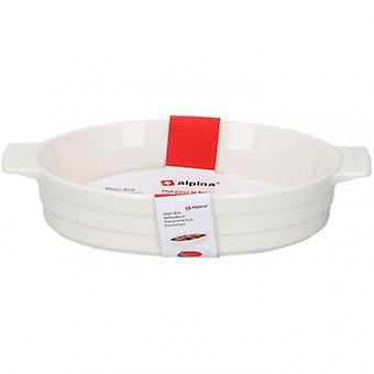 backform 1,5 Liter 31x18,5x6 cm Keramik weiß