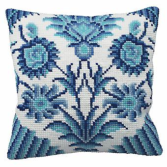 Collection d'Art Cross Stitch Kit: Cushion: Zelliges (Right)