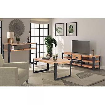 vidaXL 3-pcs. Living room furniture set acacia wood solid