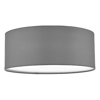 Cylindrisk spoltak ljusgrå, 3x E27