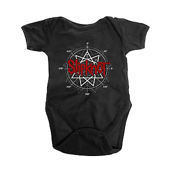 Slipknot Baby Grow Star Band Logo new Official Black 0 to 24 Months