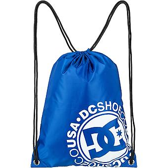 DC cinched 2 gymtas in sodaliet blauw