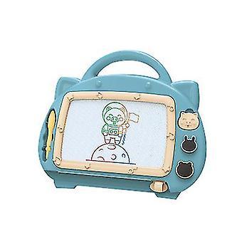 Bord blauw magnetische tekentafel speelgoed voor 1-2 jaar oude meisjes krabbel board voor kinderen x5224