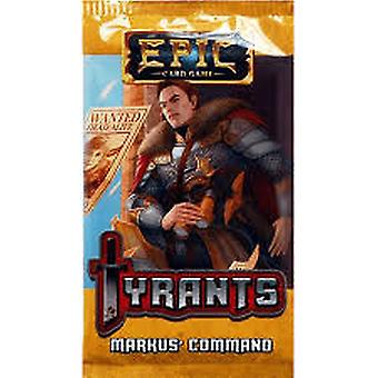 Epic Card Game Tyrants: Markus' Command Expansion