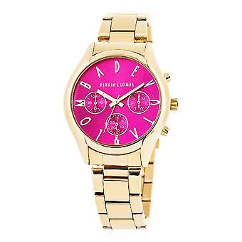 Reloj para damas Devota & Lomba DL002UMF-02FUCSIA (Ø 42 mm)