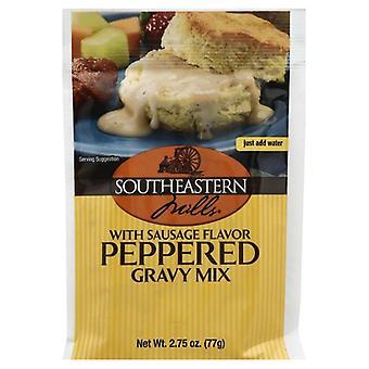 Southeastern Mills Mix Gravy Ppprd Sausage, Case of 24 X 2.75 Oz