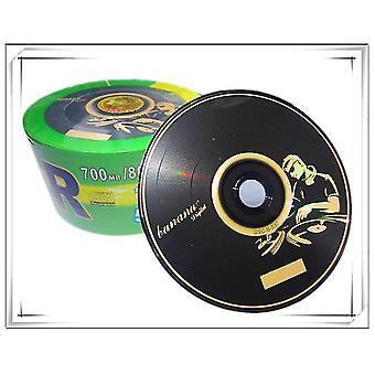новый двойной черный CD рекордный 700mb 80min 52x 50pcs sm31985