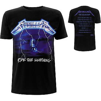 Metallica - Ride The Lightning Tracks T-Shirt X-Large homme - Noir
