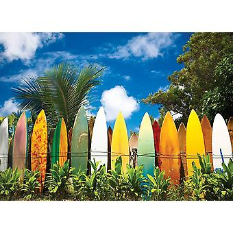 Eurographics Surfer's Paradise, Hawaii Jigsaw Puzzle (1000 pièces)