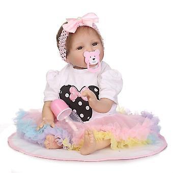 Venta caliente realista renacido bebé muñeca silicona vinilo al por mayor bebe muñecas muñeca de moda kisd juguetes regalo de Navidad regalo de año nuevo regalo