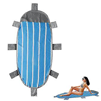210x95cm Outdoor Inflatable Lazy Beach Mat Air Mattresses Foldable Camping Picnic Travel Sleeping Pa