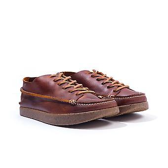 Yogi Footwear Finn Leather Shoes - Chestnut Brown