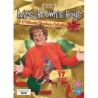 Mrs Browns Boys Dultimate Christmas Collection DVD (2020) Brendan OCarroll Region 2