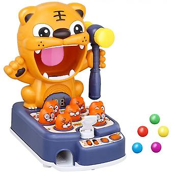 3 In 1 Whack-a-mole Game,sensory Toys For Autistic Children Tiger Target Shooting Toys With Music Lights