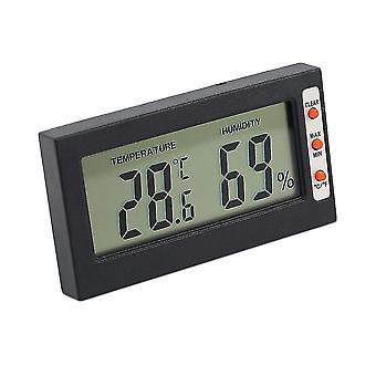 New Digital Lcd Thermometer Hygrometer Temperature Humidity Meter Gauge
