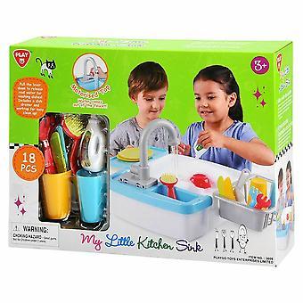 My Little Kitchen Sink & Accessories Playset