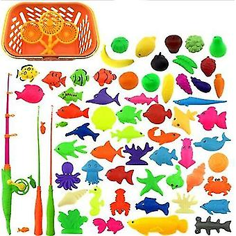 Inflatable Pool Net And Magnet Fishing Rod