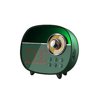 Remax RB-M50 Wireless Digital Alarm Clock Portable Bluetooth Speaker Stereo Subwoofer Audio Green