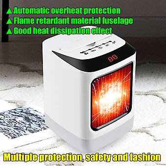 Portable Electric Heater Remote Control Mute Heating Fan Space Heater Winter Warmer Home Office