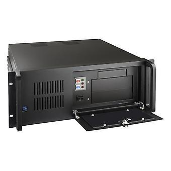 """ATX Box TooQ RACK-406N-USB3 19"""" 4U שחור"""
