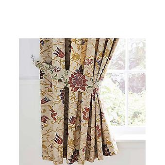 Vantona Galiana Lined Curtains and Tie Backs