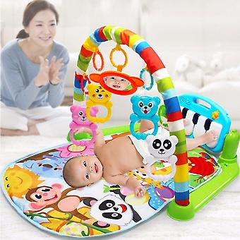 Learn Singing Piano Music Carpet Mat Blanket Toy |Blankets