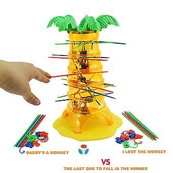 Ouder Kind Interactie Spel Vallende Apen Kinderen Educatief Speelgoed