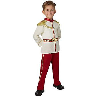 Handsome Boy Middle Ages Noble Royal Charming Prince Child Kids Carnival Party Halloween Cosplay Costumes